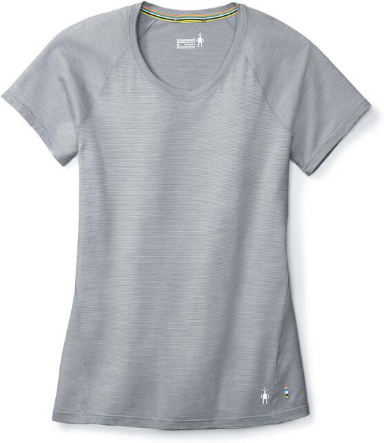 Smartwool Merino 150 Baselayer Pattern T shirt Damer, dark pebble gray